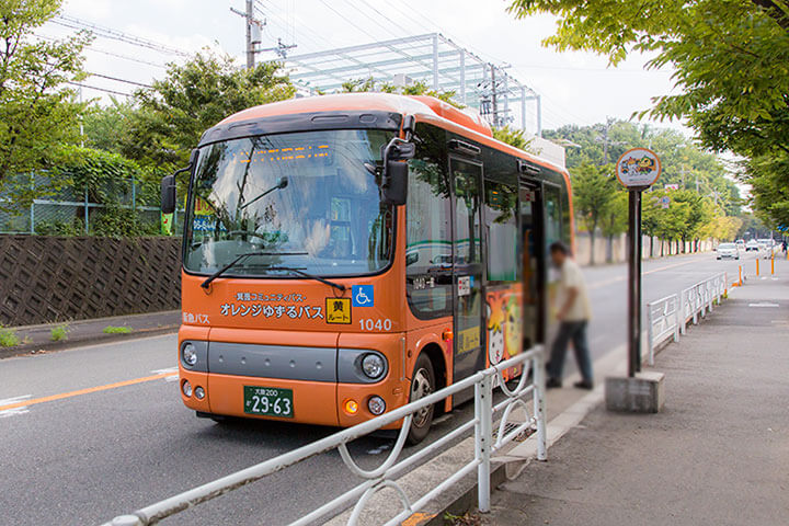 おれんじゆずるバス